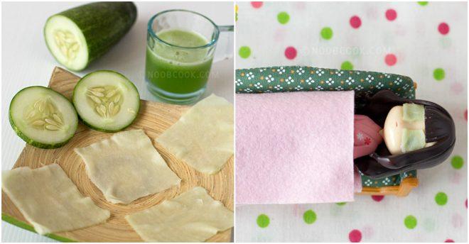 DIY Cucumber Eye Mask Recipe