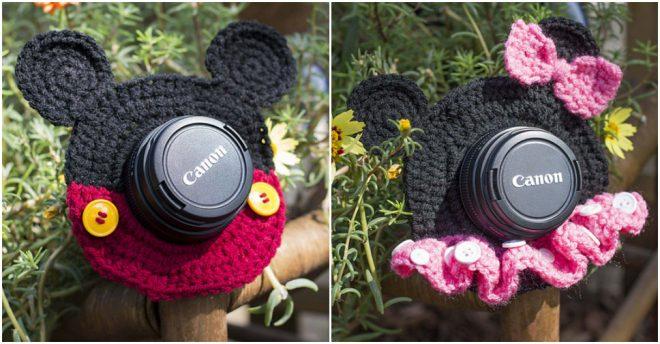 DIY Lens Shutter Buddies Free Crochet Pattern 1