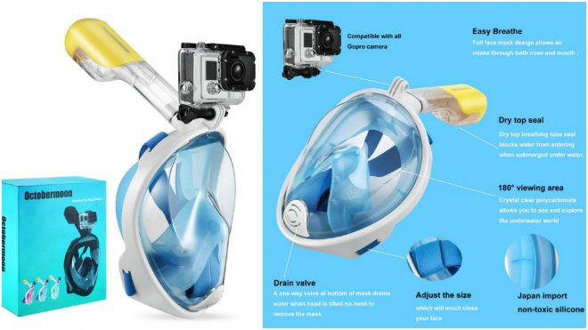 Easy Breath Full Face Snorkeling Mask