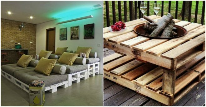 Furniture To Make From Recycled Pallet Wood