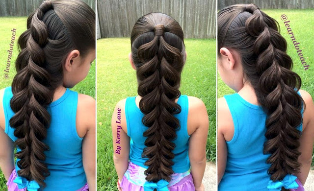 How To Do Expanded 5 Strand Braid