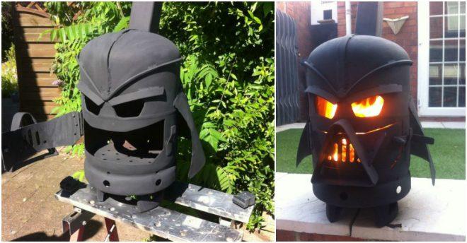 How To Make A DIY Darth Vader Log Burner