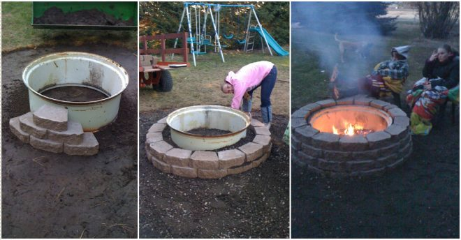 How To Make A Tire Rim Fire Pit