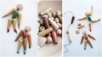 How To Make Bead Dolls
