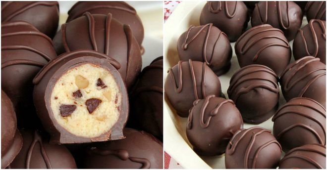 How To Make Chocolate Chip Cookie Dough Truffles