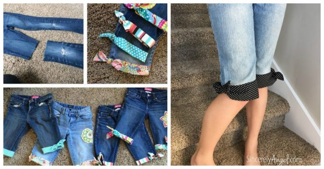 How To Make Cuff On Cut-Off Jeans