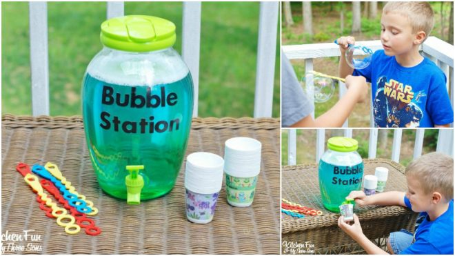 How To Make DIY Bubble Refill Station