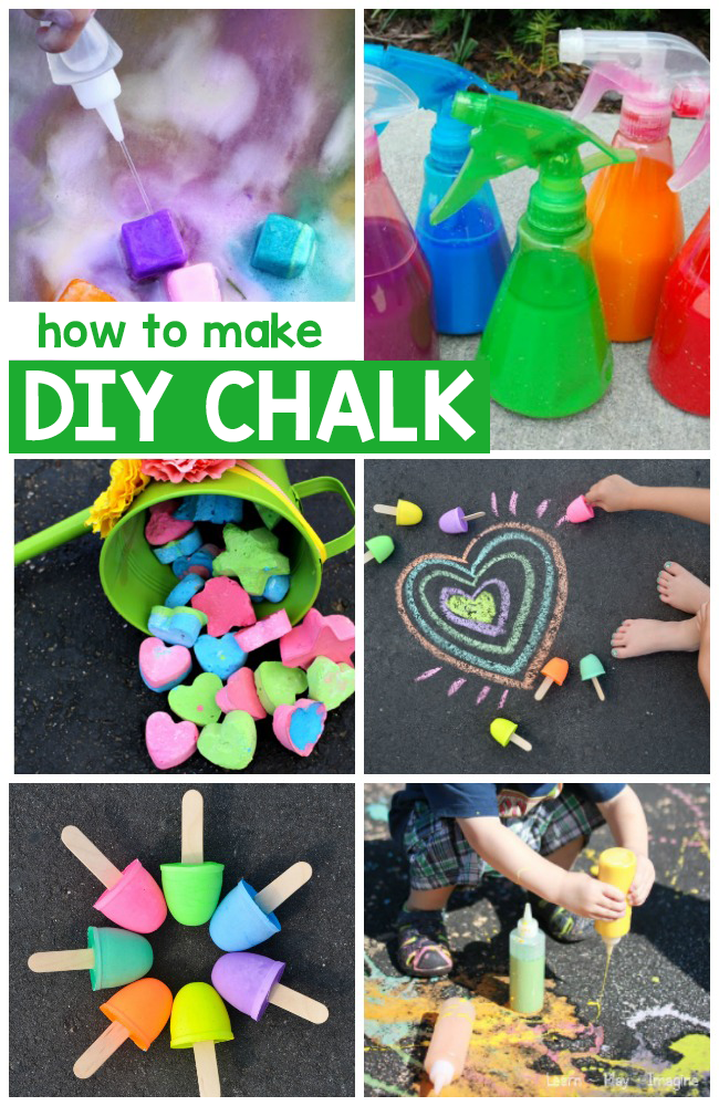 How To Make DIY Chalk 1