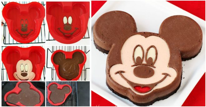 How To Make Mickey Mouse Cheesecake
