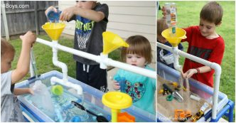 PVC Pipe Sand And Water Table Tutorial