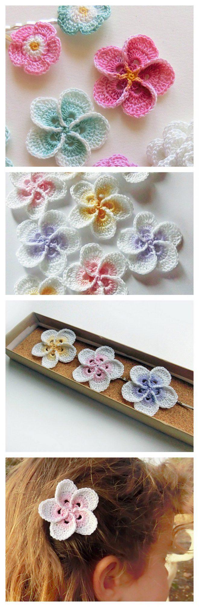 crochet-hawaiian-plumeria-flower
