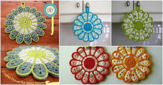flower-hot-pad-pot-stand-holder-free-crochet-pattern