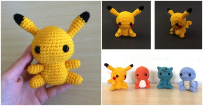How To Crochet Pikachu Pokemon