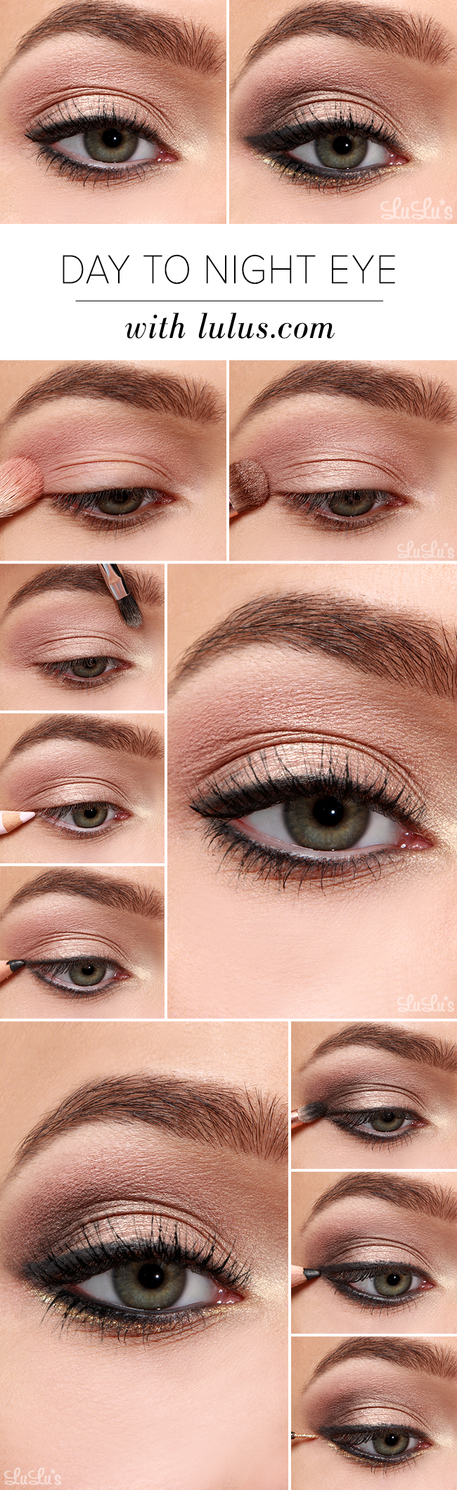 How To Do Day To Night Eye Shadow Makeup 1
