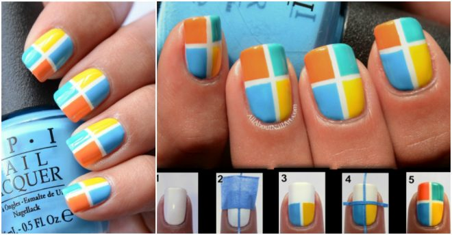 how-to-do-taped-color-block-nail-art