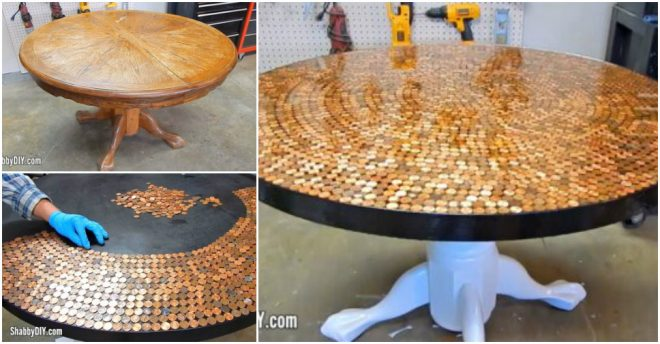 how-to-make-a-penny-table-top