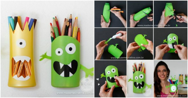 How To Make DIY Pencil Holders 1