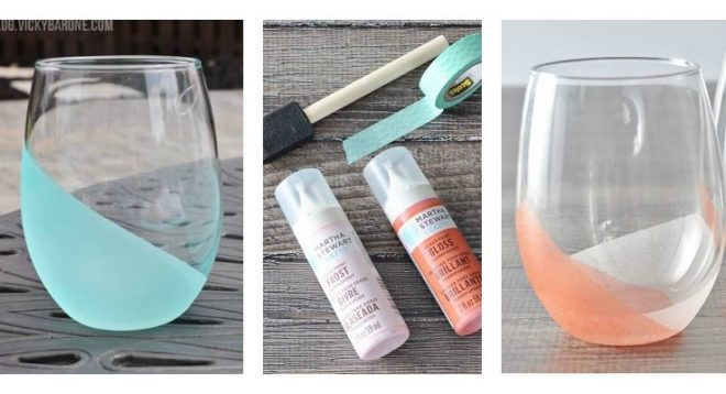 how-to-make-fancy-dip-dyed-frosted-tumblers