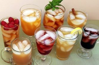 How To Make Flavored Iced Tea 1