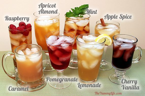 How To Make Flavored Iced Tea