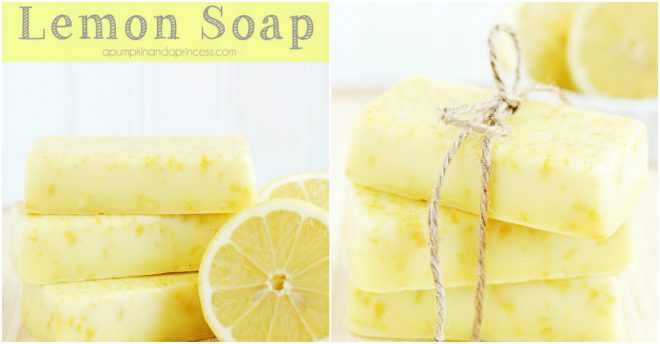 How To Make Lemon Soap