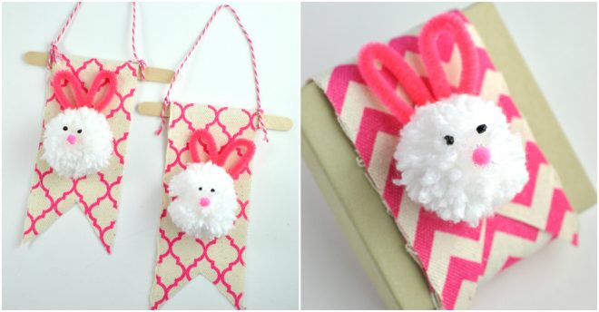 how-to-make-pom-pom-bunny-decorations