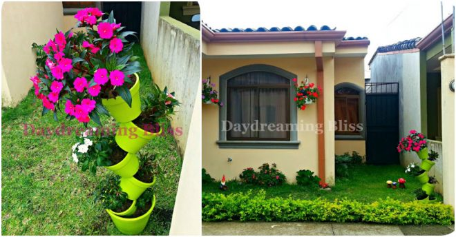 how-to-make-tipsy-flower-pot-tower