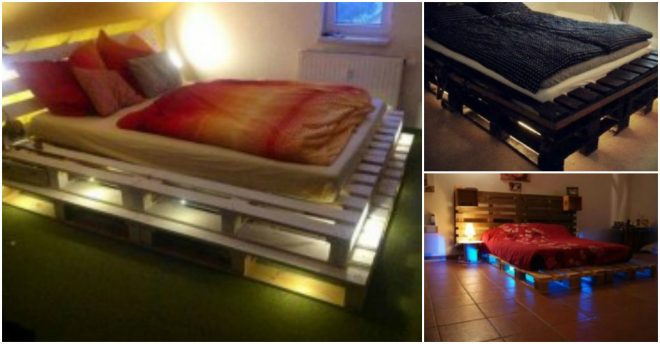 Illuminated Pallet Beds 1