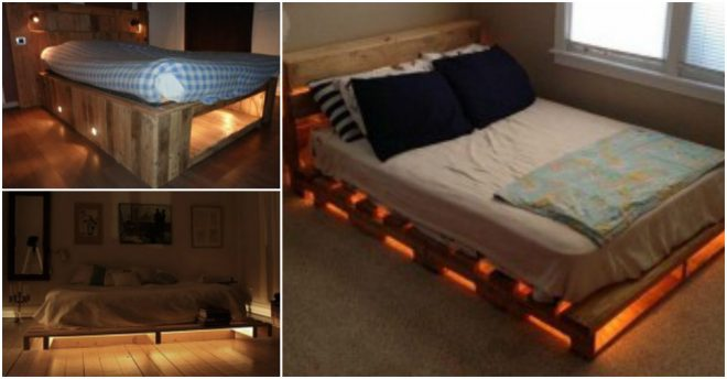 Illuminated Pallet Beds 2