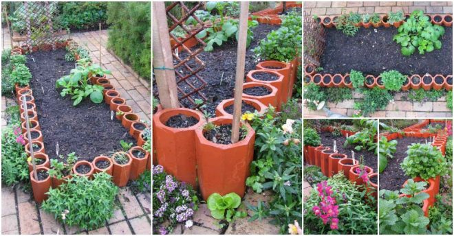 terra-cotta-pipe-garden-bed-border