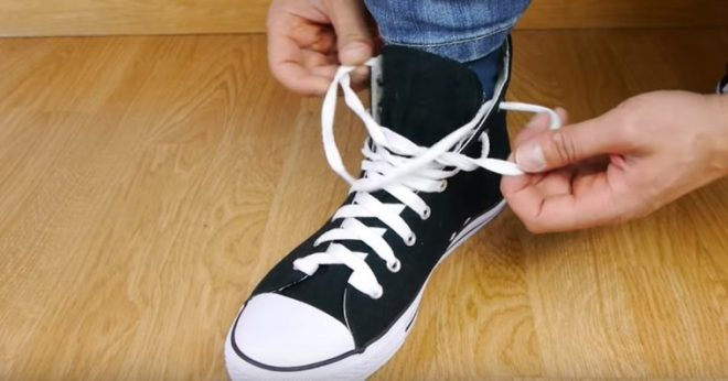 Ukrainian Knot - How To Tie Your Shoes Fast