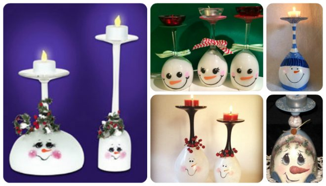 awesome-snowman-wine-glass-candle-holders