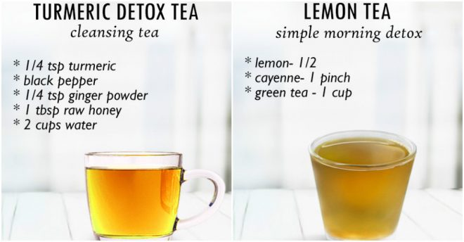 Detox Tea Recipes For Healthy Body And Skin