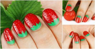 how-to-make-3d-strawberry-nail-art-1