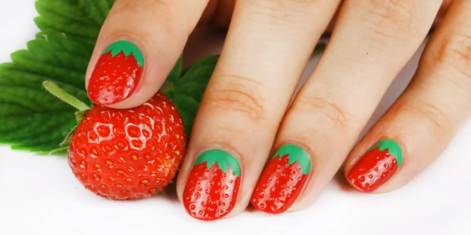 how-to-make-3d-strawberry-nail-art-2