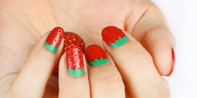 how-to-make-3d-strawberry-nail-art-3