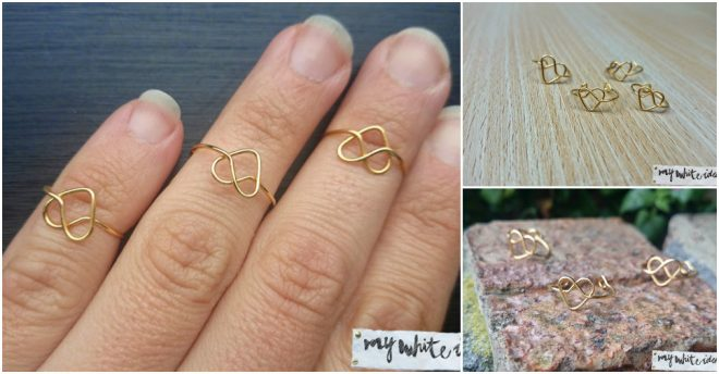 How To Make DIY Heart Ring