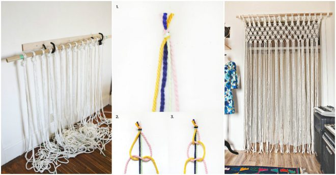 how-to-make-macrame-curtain