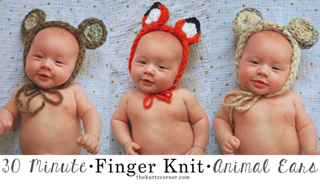 finger-knit-animal-ears-tutorial