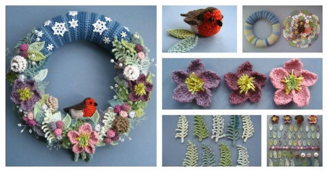 how-to-crochet-a-winter-wreath