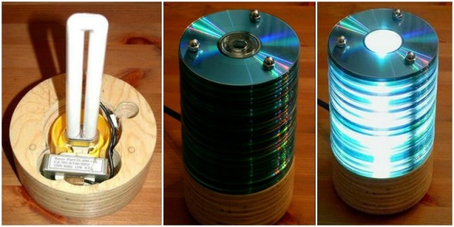how-to-make-a-recycled-cd-lamp-1