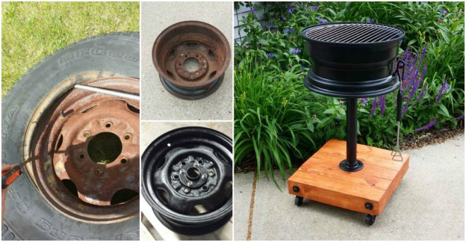 how-to-make-a-tire-rim-grill