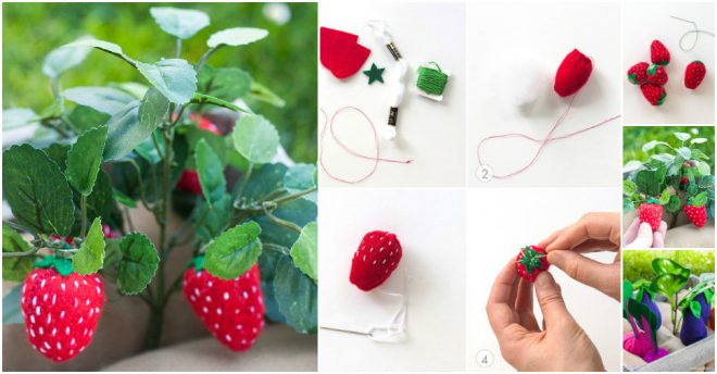 how-to-make-felt-plants