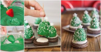 mini-chocolate-covered-strawberry-christmas-trees