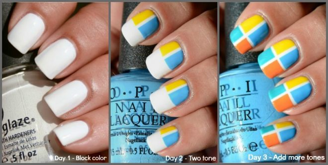 taped-color-block-nail-art