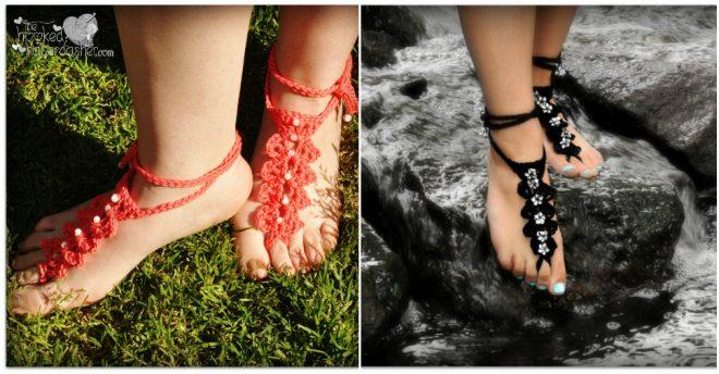 barefoot-sandals-free-crochet-pattern