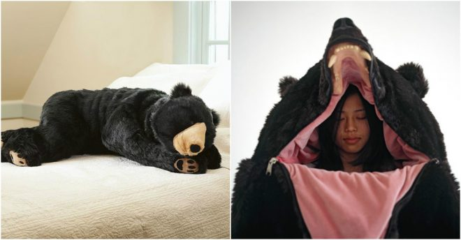 This Bear Sleeping Bag is just their favorite. This awesome bear sleeping  bag will let you become the bear you always knew you were deep inside. bc9ea31ed