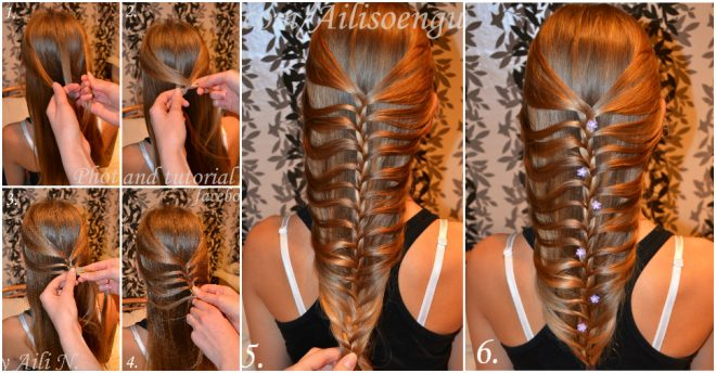 how-to-do-mermaid-fishtail-hairstyle