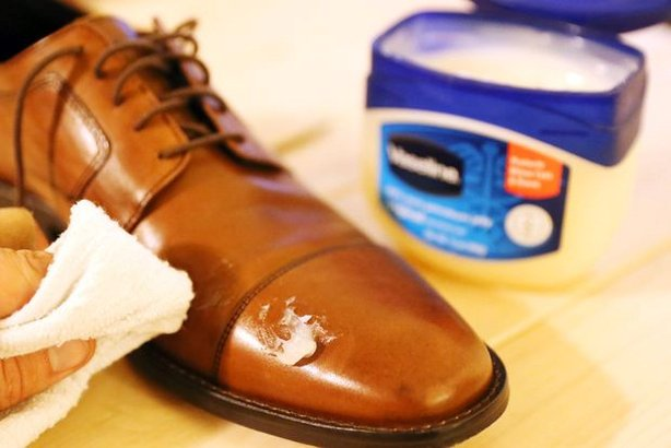 Fix Scuffed Leather Shoes