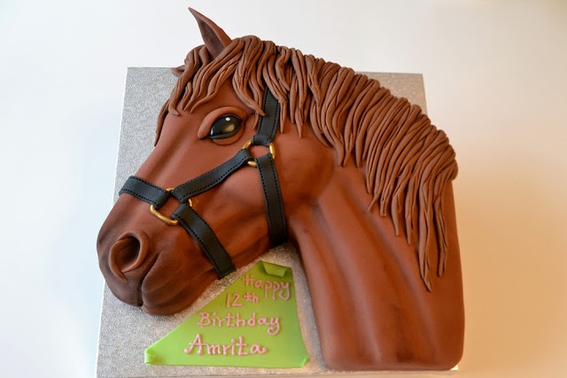 How To Make A Horse Cake How To Instructions